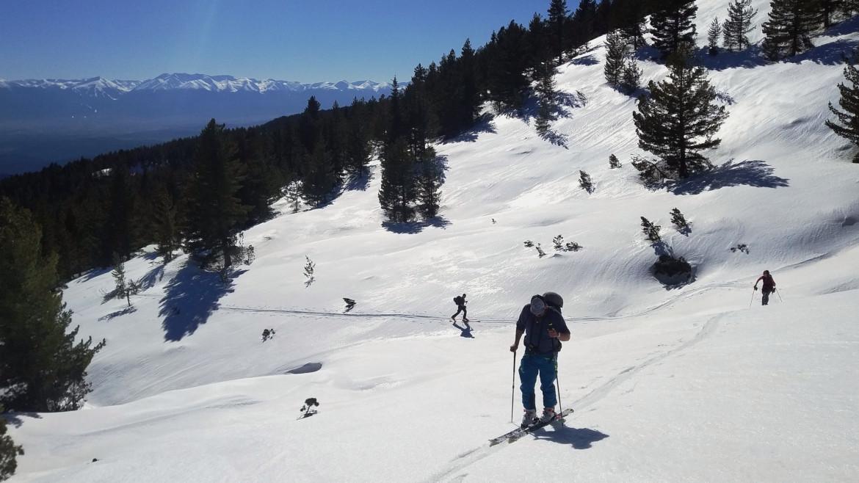 Ски преход до връх Ковач