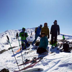 Връх Шатър със ски